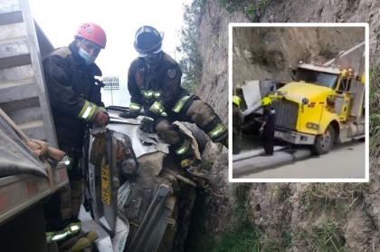 2 muertos por accidente de tránsito en Pasto de vehículos, moto y peatón