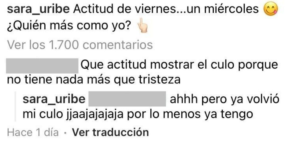 Instagram @sara_uribe