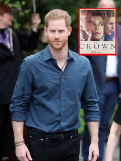 Qué opina el príncipe Harry de 'The Crown', de Netflix.