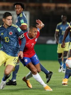 Foto de las Eliminatorias Sudamericanas ilustra nota sobre la actualidad de la Selección Colombia