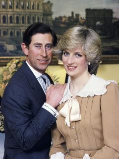 Foto del príncipe Carlos y Lady Di