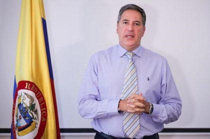 Fernando Sancelemente, exembajador de Colombia en Uruguay.