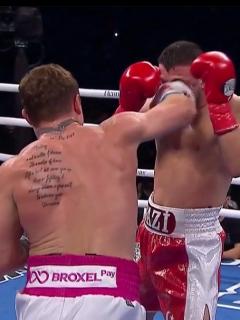 'Canelo' Álvarez vs. Avni Yildirim: el mexicano ganó la pelea ante el turco.