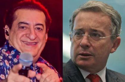 El expresidente Álvaro Uribe Vélez lamentó en Twitter la muerte de Jorge Oñate, quien falleció este domingo en Medellín.
