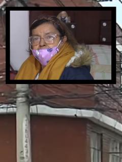 Bogotá: anciana dice que quedó en la calle por presunta estafa de sobrina