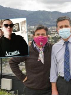 Claudia López y Hugo Acero, secretario de Seguridad, hablan del Esmad y de la herida a Gareth Sella