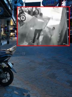 Hombre sobre moto en Pattaya, Tailandia, ilustra nota de video de turista chileno que fue agredido porque no le entendieron su idioma, Tailandia