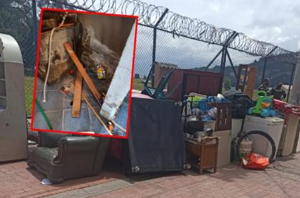 Imágenes del desalojo a venezolanos en Madrid, Cundinamarca.