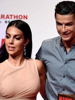 Georgina Rodríguez, novia de Cristiano Ronaldo, reveló secretos del jugador. Imagen de referencia de la pareja.