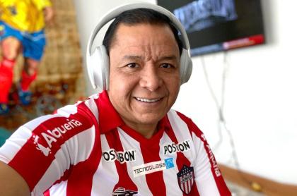 Iván René Valenciano se hacía el lesionado para no ir a Pasto. Imagen de referencia del 'bombardero'.