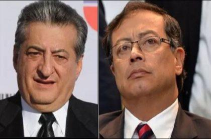 Jorge Oñate y Gustavo Petro:  el senador desmintió un mensaje que circula en redes y dijo que es un montaje en su contra