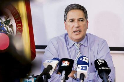 El exembajador de Colombia en Uruguay, Fernando Sanclemente.
