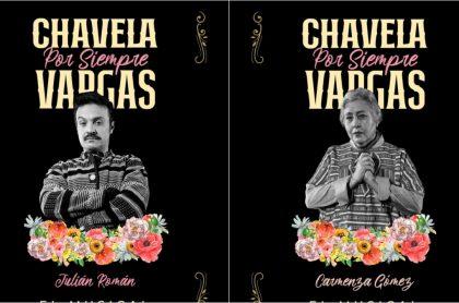 Movistar Arena Bogotá reabre: 'Chavela por siempre Vargas', musical en el que actuarán Julián Román y Carmenza Gómez, entre otros.