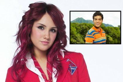 Fotomontaje de Dulce María y Jerónimo Cantillo, a propósito de 'remake' de 'Rebelde'