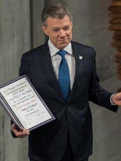 El expresidente Juan Manuel Santos, quien ha sido acusado recientemente de haberse reunido con el directivo de Odebrecht Eleuberto Martorelli.