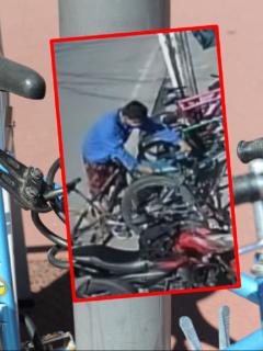 Imágenes que ilustran los robos de bicicletas en Bogotá.