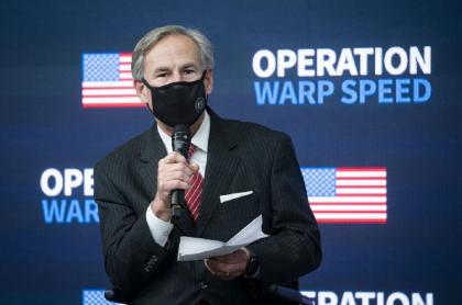 Greg Abbott, gobernador de Texas, fue uno de los primeros en decretar la apertura total en Estados Unidos.