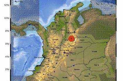 El Servicio Geológico Colombiano informó de un temblor de magnitud 4,6 la madrugada de este miércoles 3 de marzo.
