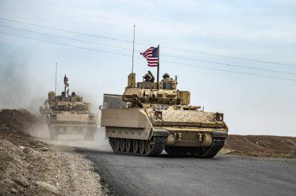 Soldados de Estados Unidos en Irak ilustra nota sobre nuevo ataque que sufrieron, a dos días de la visita del papa Francisco