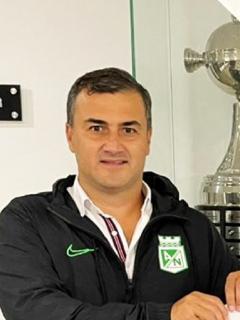 Juan David Pérez, que renunció a la Presidencia de Atlético Nacional