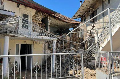 Fuerte terremoto de 6.3 grados sacudió este miércoles el centro de Grecia. Según las autoridades, hay varias personas heridas.