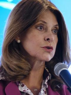 Marta Lucía Ramírez, que dijo que había afán de muchos por ocupar su cargo