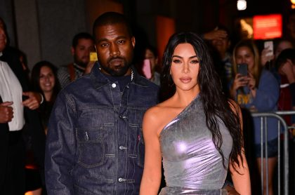 Foto de Kanye West y Kim Kardashian, a propósito de los motivos de su divocio