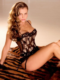 Aura Cristina Geithner, que lanzará perfil en Onlyfans.