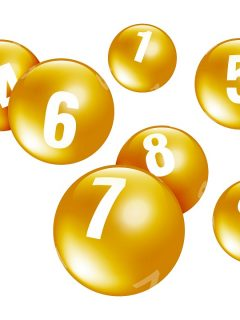 Balotas, ilustran nota sobre resultados de la lotería de la Cruz Roja, Huila y chances de marzo 2.