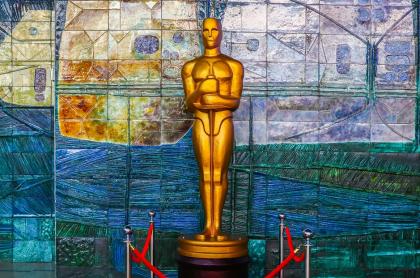 Foto de estatuilla de Óscar, a propósito de cuándo dicen los nominados
