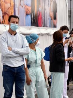 El Ministerio de Salud indicó que ya hay existencias para el 92 % del personal sanitario del país.