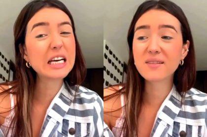Video de Daniela Ardila, influencer colombiana, dónde dice que odia Colombia.
