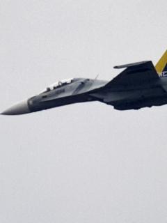 Avión de combate Sukhoi SU-30 de Venezuela