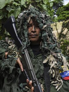 Ismaira Figueroa, francotiradora de la Milicia