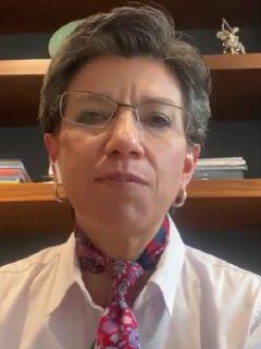 Claudia López: predial y otros impuestos deBogotácorreránsu fecha de pago