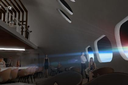 Orbital Assembly Corporation muestra cómo sería su hotel en el espacio.