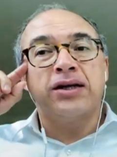 Exministro Juan Carlos Echeverry se consolida como precandidato presidencial. Imagen de referencia del político conservador.
