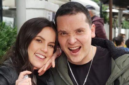 Linda Palma y Diego Pulecio, que dicen, se casará este año.