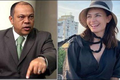 Luis Alonso Colmenares le dejó mensaje a Marcela Mar por el problema que tuvo con un juguete sexual en el aeropuerto