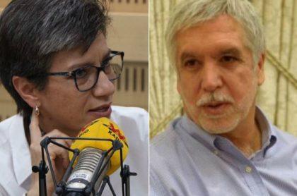 """Claudia López llamó """"leñador"""" a EnriquePeñalosa, en video, y ahora le cobran"""