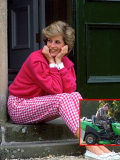 James Hewitt, amante de la princesa Diana, quien ahora trabaja como jardinero y por poco sueldo