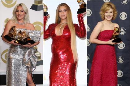 Foto de Lady Gaga, Beyoncé y Alison Krauss, a propósito de las mujeres que más han ganado Grammy