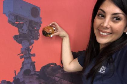 Diana Trujillo, de misión a Marte, será condecorada como mujer en el Congreso