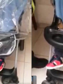 Video de cómo roban a los comerciantes con bebés falsos en Bogotá y Cundinamarca.