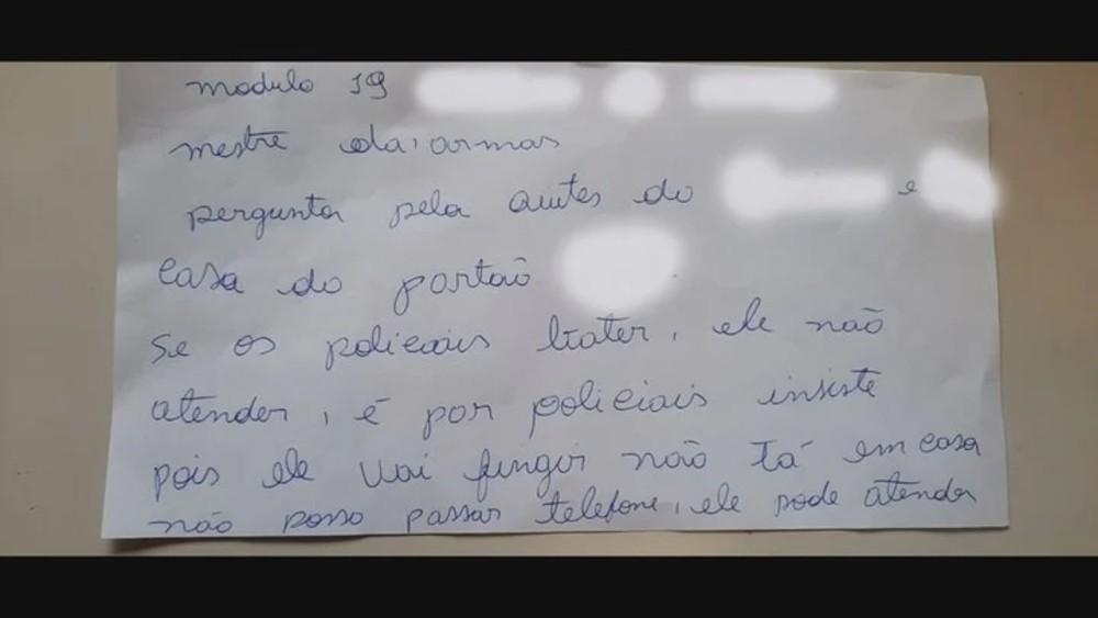 Segunda nota de víctima de violencia de género en Brasil