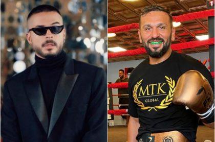 Reykon y Joe Fournier, ilustra nota de Reykon revela que Joe Fournier le escribe a Instagram para que peleen en un ring