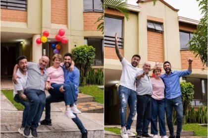 Los Montañeros compran casa nueva y celebran por todo lo alto