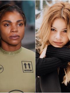 Fotos de Beatriz Fernández, Caterine Ibarüen y Johana Bahamón, a propósito del Día de la Mujer