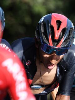 Nairo Quintana, Egan Bernal y los colombianos estarán en la Tirreno-Adriático 2021. Imagen de referencia de Nairo y Egan.