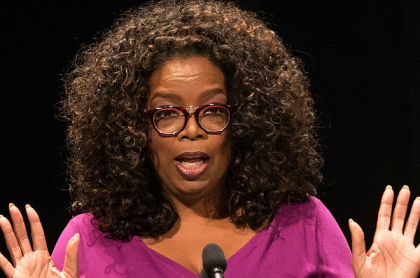 Oprah Winfrey, a quien le pagaron una millonaria suma por la entrevista a Meghan Markle y el príncipe Harry
